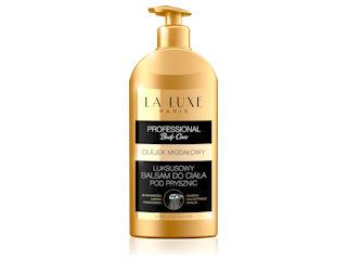 Luksusowy balsam do ciała Pod Prysznic Olejek Migdałowy Professional Body Care La Luxe Paris.