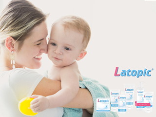 Pielęgnacja skóry atopowej z kosmetykami Latopic.