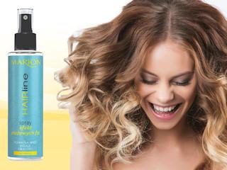 Spray efekt plażowych fal z serii HAIRline firmy Marion.