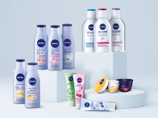 Kosmetyki od marki NIVEA.