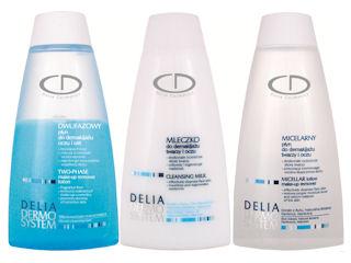 Oczyszczanie i pielęgnacja z Delia Dermo System