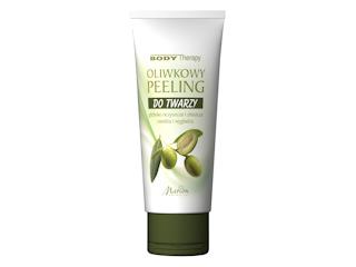 Oliwkowy Peeling do twarzy BODY THERAPY Marion Kosmetyki.