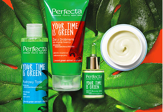 Linia Perfecta Your Time is Green.
