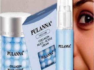 Kompleksowa kuracja kolagenowa dla kobiet po 25-tym roku życia z kosmetykami Pulanna.