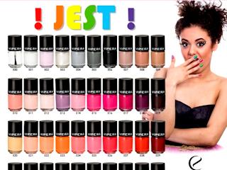 Lakiery do paznocki JEST! od Vipera Cosmetics.