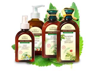 GREEN PHARMACY - ziołowe preparaty do włosów już w Polsce.
