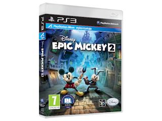 Nowa gra Epic Mickey 2: Siła Dwóch na XboX 360 i Playstation3.