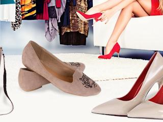 Zakup butów przez internet.
