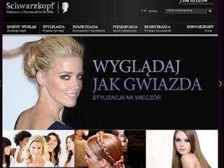 Internetowe oblicze Schwarzkopf