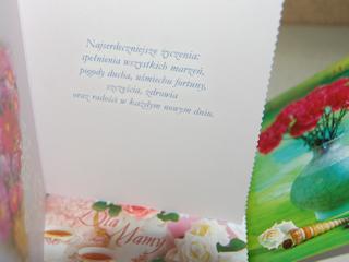 Kartki pocztowe na Dzień Matki.