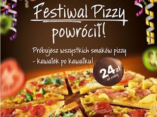 Festiwal Pizzy powrócił – wyjątkowa oferta w restauracjach Pizza Hut.