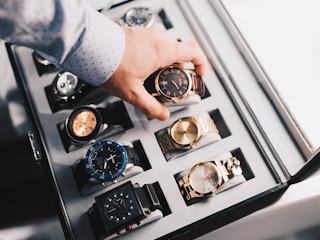 Stylowy prezent dla mężczyzny - zegarek.