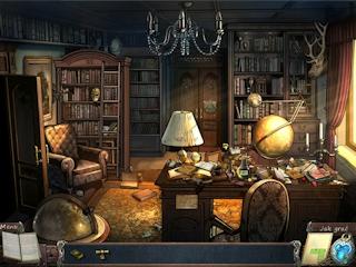 Przeszukaj pokoje dworku i odkryj sekrety czyhające w tym dziwacznym miejscu.