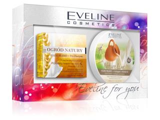 Zestaw OGRÓD NATURY KOZIE MLEKO + Pro-elastyna Eveline Cosmetics.
