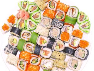 Produkty do sushi.