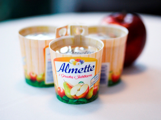Moda na owocowe inspiracje z nowym Almette z gruszką i jabłkiem.