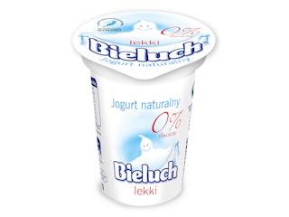 Jogurt Bieluch naturalny lekki idealny przy odchudzaniu.