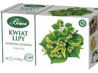 Herbata Bifix z kwiatu Lipy.