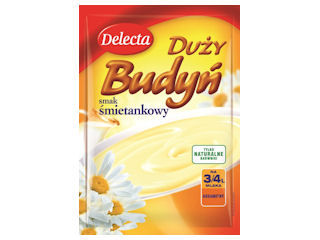 Duży Budyń, czyli deser od Delecty