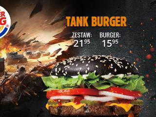 Czarny Tank Burger, czyli jest ogień