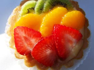 Przepis na ciasto owocowe.