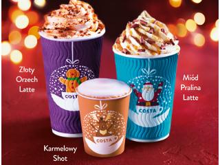 Świąteczne smaki w Costa Coffee