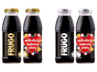 Czarne FRUGO w limitowanych butelkach na rzecz WOŚP