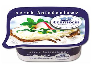 Serek śniadaniowy Czarnocin – z krainy mlekiem płynącej.