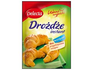 Drożdże instant Delecta – szybki sposób na ciasto drożdżowe.