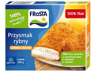 Przysmaki rybne marki FRoSTA.