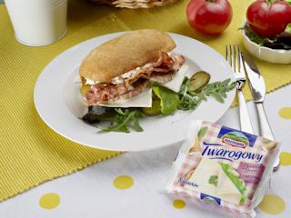 Przepis na kanapkę z serem.