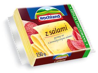 Pyszna NOWOŚĆ Hochland – Ser topiony w plastrach z salami.
