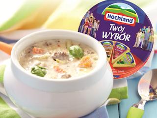 Przepis na sycącą zupę serowo-cebulową.