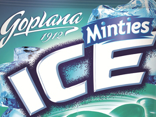 Miętowe karmelki Ice Minties Goplany.
