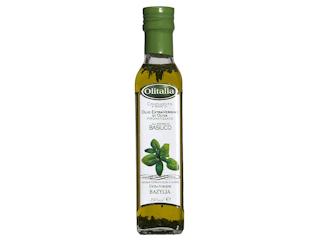Oliwa z oliwek Extra Vergine z bazylią Olitalia.