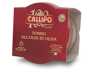 TUŃCZYK W OLIWIE Z OLIWEK CALLIPO Index Food.