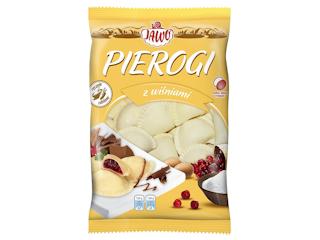 Pierogi z wiśniami Jawo.