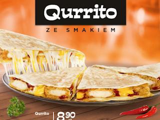 Qurrito w KFC.