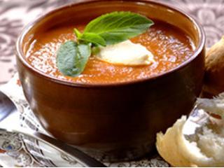 Przepis na zupę z soczewicy pomarańczowej.