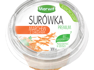 Surówka marchew z chcrzanem Marwit.