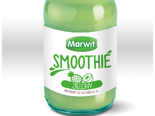 Zielony Marwit Smoothie.