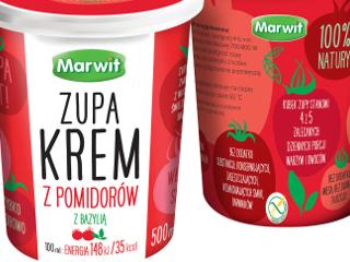 Zupa krem z pomidorów Marwit.