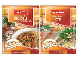 Przyprawy Appetita do potraw wigilijnych