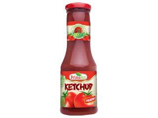 Ketchup pikantny Bio Primavika.