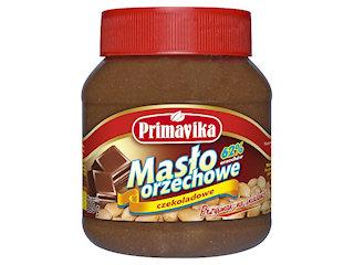 Masło orzechowe czekoladowe Primavika.