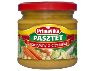 Pasztet warzywny z cieciorką Primavika.