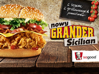 Sycylijskie słońce w KFC z nowym granderem