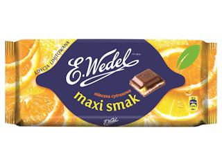 Nowe nadzienia czekolad E.Wedel.