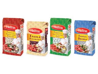 Fasole marki Halina.
